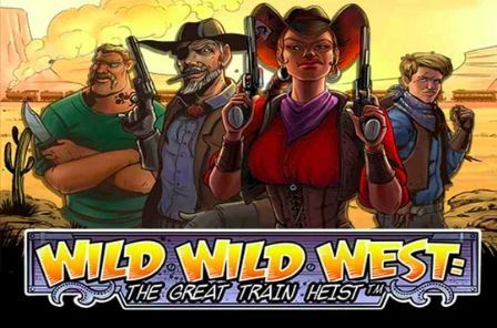Wild Wild West the Great Train Heist automat zdarma