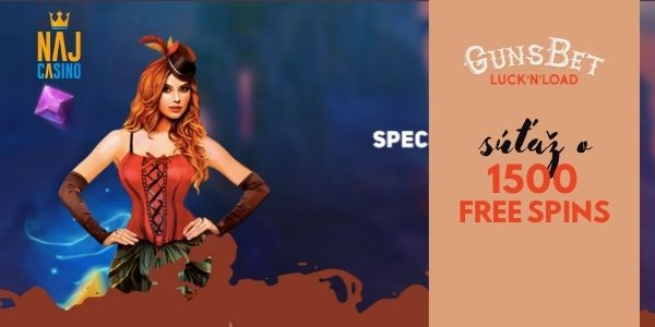 1500 free spins
